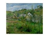 The Valhermeil, Near Pontoise, 1880 Reproduction procédé giclée par Camille Pissarro