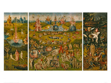 The Garden of Earthly Delights Giclee-trykk av Hieronymus Bosch