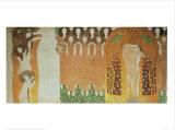 Beethoven Frieze Posters por Gustav Klimt