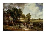 A carreta de feno, 1819 Arte por John Constable