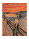 The Scream, 1893 Reproduction procédé giclée par Edvard Munch