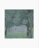 Upperaustrian Farmhouse Posters af Gustav Klimt