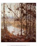 Northern River Poster af Tom Thomson