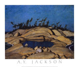 Night, Pine Island Prints by A. Y. Jackson