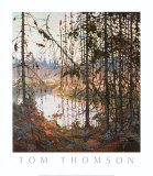 Northern River Plakat af Tom Thomson