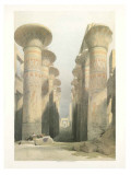 Thebes Print by D. Roberts