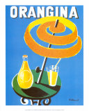 Orangina Plakater af Bernard Villemot