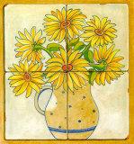 花の花瓶II 高品質プリント : V. アルバー