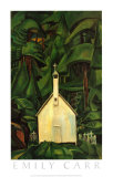 Indian Church Posters af Emily Carr