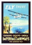 Compagnie aérienne Imperial Airways Posters