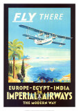 Imperial Airways Kunstdrucke
