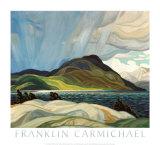 Lake Wabagishik Kunst av Franklin Carmichael