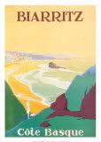 Biarritz Poster por  Debo