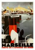 Marselha Posters por Roger Broders