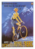 Bicyclette Royal Fabric Posters
