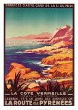 Cote Vermeille Poster por Pierre Commarmond