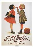 Chocolat Au Lait Plakater