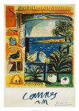 鳩, 1957 ポスター : パブロ・ピカソ
