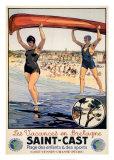 Vacances En Bretagne Poster por  Periber