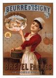 イジニー社のバター ポスター