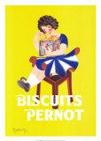 Biscuits Pernot Taide tekijänä Leonetto Cappiello