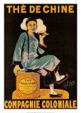 Chinesicher Tee, Compagnie Coloniale Kunstdrucke von  Dezy