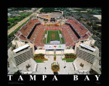 Raymond James Stadium, Tampa Bay, Florida Posters av Mike Smith