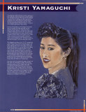 Kristi Yamaguchi Kunstdrucke