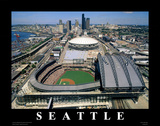 Safeco Field - Seattle, Washington Prints by Mike Smith