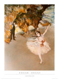 Danseuse Affiche par Edgar Degas