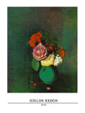 Fleurs Posters af Odilon Redon