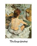 Aseo Láminas por Henri de Toulouse-Lautrec