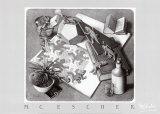 Reptiles Art by M. C. Escher