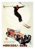 Mercedes-Benz Poster por  Meyer