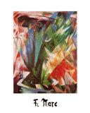 Bird Posters af Franz Marc