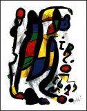 Milano Posters av Joan Miró