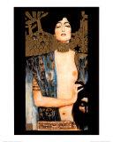 Judith Plakater af Gustav Klimt