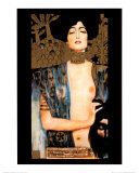 Judith Prints by Gustav Klimt