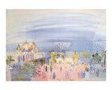 Casino in Nice Posters av Raoul Dufy