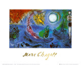 The Concert Prints by Marc Chagall