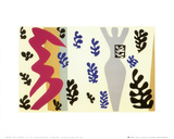 Knife Thrower Poster av Henri Matisse