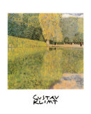 Schonbrunn Park Posters por Gustav Klimt
