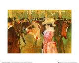 Dressage des Nouvelles par Valentin Pósters por Henri de Toulouse-Lautrec