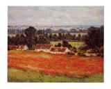 Champ de coquelicots Affiches par Claude Monet
