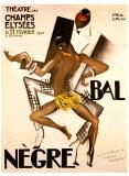 Zwei afrikanische Gentlemen Kunstdrucke von Paul Colin