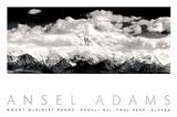 Parc national et réserve de Denali, Alaska Affiches par Ansel Adams