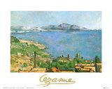 L'Estaque, vue du golfe de Marseille Art par Paul Cézanne