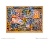 Kreuze und Saulen Prints by Paul Klee