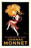 Cognac Monnet, ca. 1927 Plakat af Leonetto Cappiello