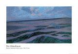 Paisaje de dunas Láminas por Piet Mondrian